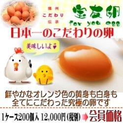 画像1: 宝友卵 1ケース200個入(1パック10個入×20パック) 旨さと栄養価にこだわりました!